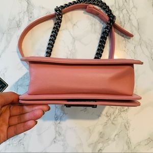 CHANEL Bags - CHANEL Small Pink Le Boy Bag